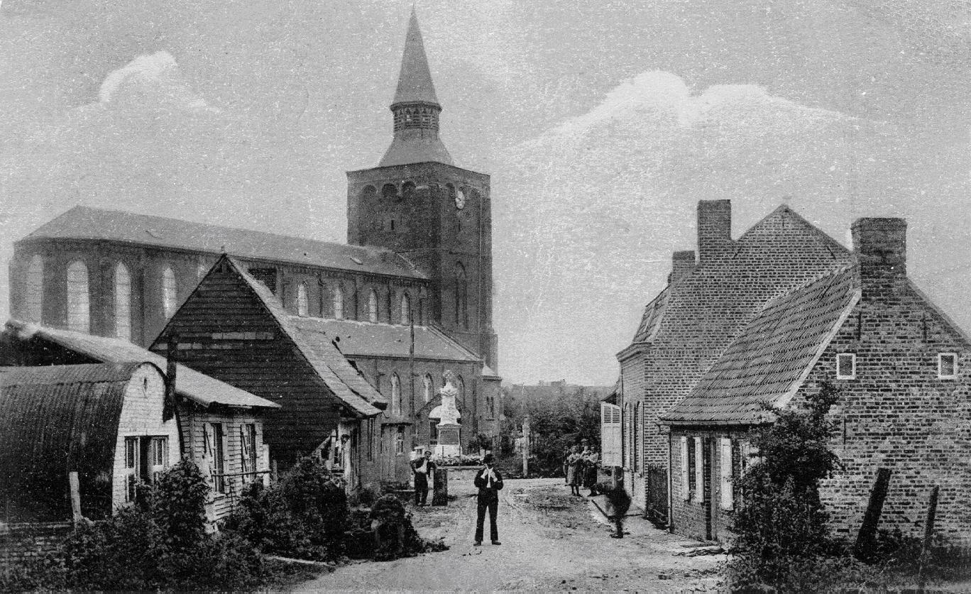 Rue de la blanchisserie et place de l'église